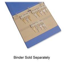 "Key Panel, 22 Key Capacity, 11-1/2""x1/4""x9"", Beige Plastic"