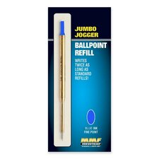 Refill Jumbo Jogger Pens, Medium, Blue Ink