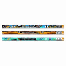 Decorated Pencil, 12/Pack