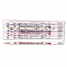 Decorated Wood Pencil, Third Graders Are #1, 12/Pack