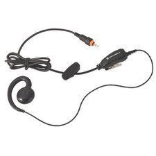 CLP Series Replacement Lightweight Swivel Earpiece with In-line Clip PTT Mic