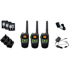 Motorola 20 Mile Talkabout 2 Way Radio (Set of 3)