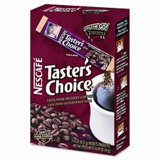 Nescaf Taster'S Choice Stick Pack, 84 Sticks/Carton