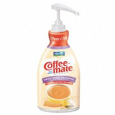 <strong>Nestle' USA</strong> Coffee-Mate Liquid Coffee Creamer, Pump Dispenser