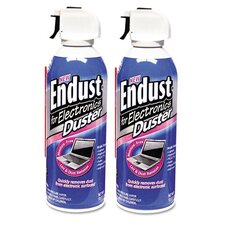 Endust Compressed Air Duster for Electronic, 2 Per Pack