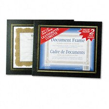 Leatherette Document Frame, Pack of Two