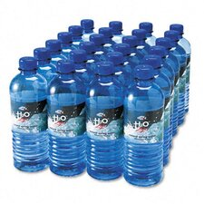 Bottled Spring Water, 0.5 Liter, 24 Bottles/Carton