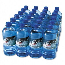 Bottled Spring Water, 24 Bottles/Carton