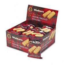 Walker's Shortbread Cookies, 2/Pack, 24 Packs/Box