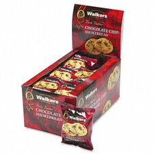 Walker's Shortbread Cookies, 2 Cookies/Pack, 24 Packs/Box