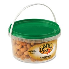 <strong>Office Snax</strong> Cashew Nuts, 15 Oz., Tub