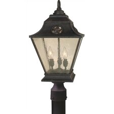 Chaparral 3 Light Outdoor Post Lantern