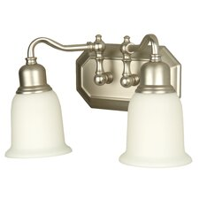 Heritage 2 Light Vanity Light