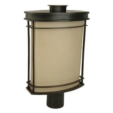 Vale 1 Light Oudoor Post Lantern