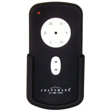 Remote for Dc Motor in Black