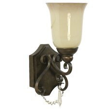 Brasilia 1 Light Wall Sconce