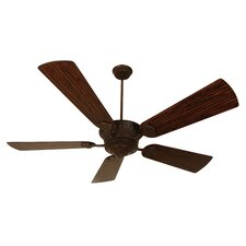 "DC Epic 70"" Ceiling Fan with Dark Oak Blades in Aged Bronze"