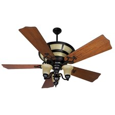 "56"" Hathaway 5 Blade Ceiling Fan Remote"