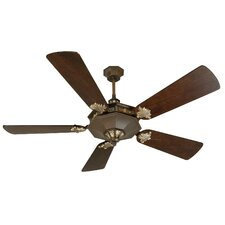 "<strong>Craftmade</strong> 54"" Beaumont 5 Blade Ceiling Fan with Remote"