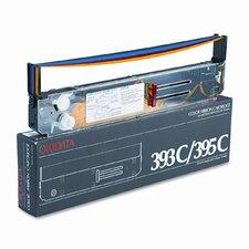 52103601/52103701/52103801 Printer Ribbon, Nylon, 1.3M Yield, Four-Color