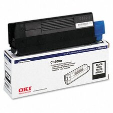 43034804 Toner Cartridge, Black