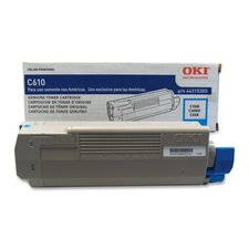 <strong>OKI</strong> Toner Cartridge, 6,000 Page-Yield