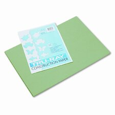 Tru-Ray Construction Paper, Sulphite, 12 x 18, Festive Green, 50 Sheets