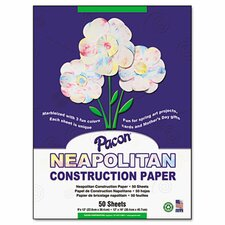 <strong>Pacon Corporation</strong> Neapolitan Construction Paper, 50 Sheets/Pack