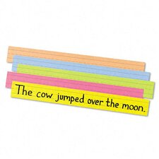 Super Bright Sentence Strips, ages 4-8 (Set of 100)