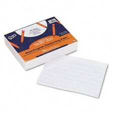 "Multi-Program Handwriting Paper, 0.63"" Long Rule, 500 Sheets/Pack"