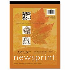 <strong>Pacon Corporation</strong> Art1St Newsprint Pad, 50 Sheets/Pad