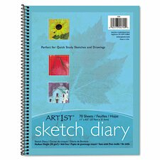 Art1St Sketch Diary,70 Sheets