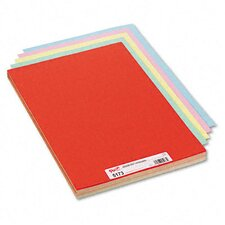 Assorted Colors Tagboard, 18 X 12, 100/Pack
