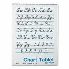 <strong>Pacon Corporation</strong> Chart Tablet, Unruled, 25 Sheets/Pad