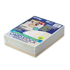 Array Card Stock, 65 Lbs., Letter, 250 Sheets/Pack