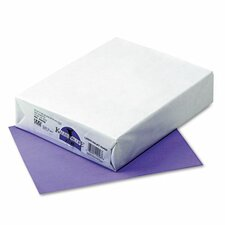 <strong>Pacon Corporation</strong> Kaleidoscope Colored Copy/Laser Paper, Violet, 24lb, Letter, 500 Sheets