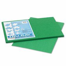 <strong>Pacon Corporation</strong> Tru-Ray Construction Paper, Sulphite, 12 x 18, Holiday Green, 50 Sheets
