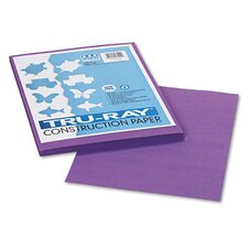 Tru-Ray Construction Paper, Sulphite, 9 x 12, Violet, 50 Sheets