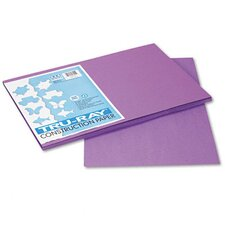 Tru-Ray Construction Paper, 100% Sulphite, 12 x 18, Violet, 50 Sheets