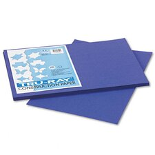 Tru-Ray Construction Paper, Sulphite, 12 x 18, Royal Blue, 50 Sheets