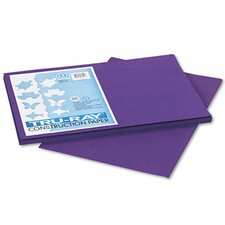 Tru-Ray Construction Paper, 100% Sulphite, 12 x 18, Purple, 50 Sheets