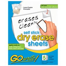 Dry Erase Sheets With Handwriting L