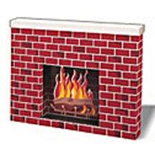 Corrugated Fireplace