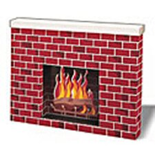 Corrugated Fireplace
