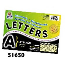 2 Self-adhesive Letters Black
