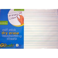 Dry Erase Sheets Lined