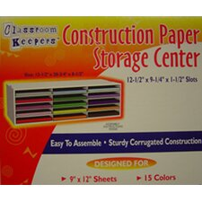 <strong>Pacon Corporation</strong> Construction Paper Storage