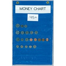 Money Chart Blue 8 Pockets