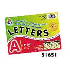 2 Self-adhesive Letters Red