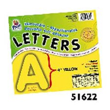 4 Self-adhesive Letters Yellow
